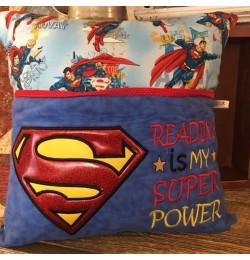 Superman logo Reading is My Super power