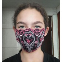 Face Mask Riga Embroidery Design For kids and adult