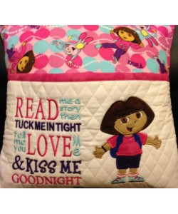 dora read me a story reading pillow