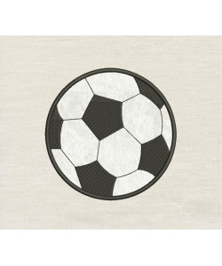 Football applique design