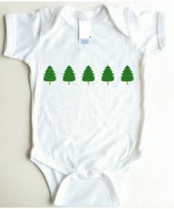 row trees christmas 5 sizes