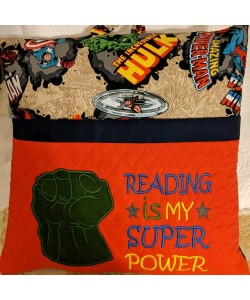 Hulk Fist with Reading is My Superpower