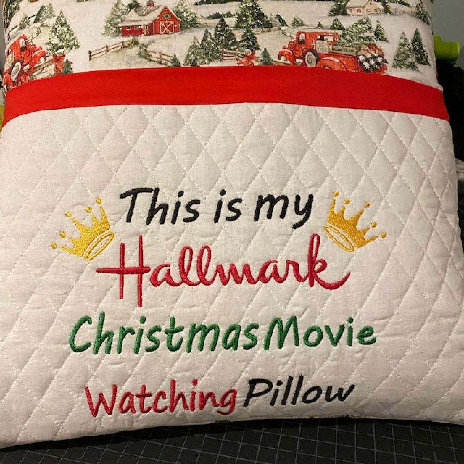 This is my hallmark pillow embroidery design