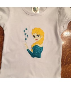 Elsa Frozen applique