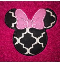 Minnie Head Applique