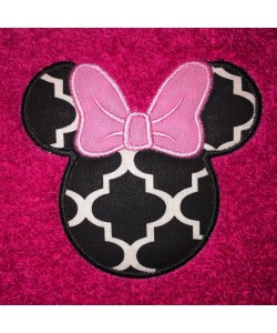Minnie Head Applique