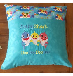 Baby shark doo doo embroidery