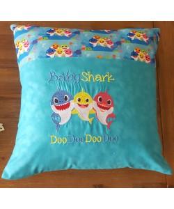 Baby shark doo doo embroidery