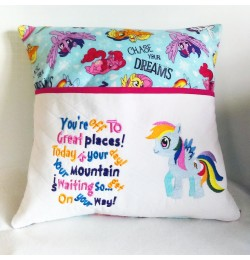 My little pony with You're Off to Great Places