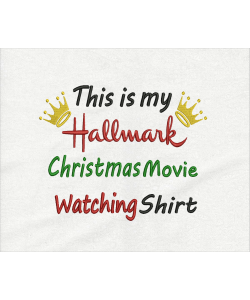 This is my hallmark shirt embroidery